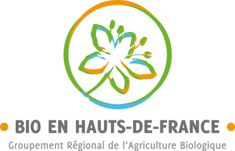 Logo de Bio en Haut de france; version couleur